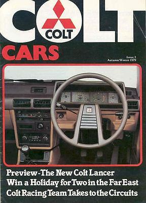 1980 Mitsubishi Colt Lancer Sales Brochure Racing wf2147-4GYTAT