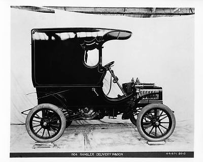 1904 Rambler Delivery Wagon Automobile Photo Poster zad8108-NB2ASZ