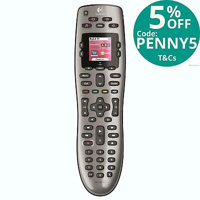 Logitech Harmony 650 Remote Universal Controller 5-in-1 LCD Screen DVD TV PC Mac