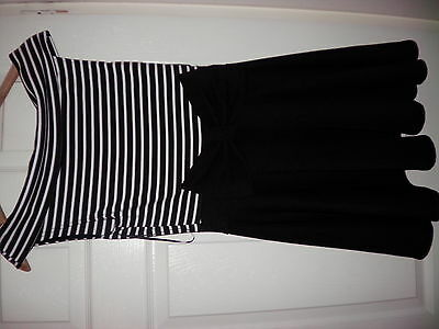 Evita Bow Dress  BNWT Size 10