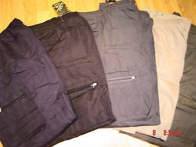 Combat Cargo Army Lined Fleeced Warm Trousers Thermal M