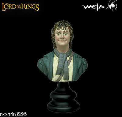 LORD OF THE RINGS PIPPIN PEREGRIN TUK busto 1:4 Weta Sideshow