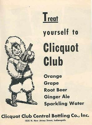 1947 Clicquot Club Soda Magazine Advertisement wc7779-EOGDER
