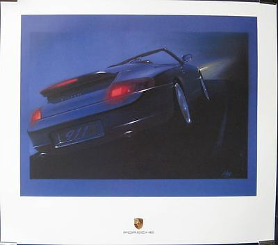 2000 Porsche 911 996 Carrera C2 Showroom Poster  mx40-ZBRY7S