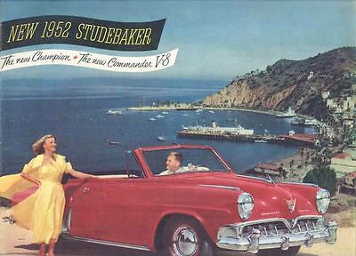 1952 Studebaker Champion Commander LandCruiser Brochure mx1304-HEFAG3