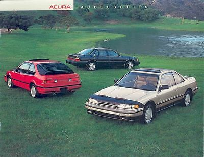 1988 Acura Integra & Legend Accessories Brochure mx1600-MPXY9H