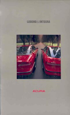 1989 Acura Legend & Integra Prestige Brochure mx1604-HRRXUO