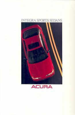 1990 Acura Integra Sports Sedan Prestige Brochure mx1605-4LL9YJ