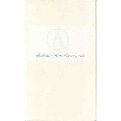 1993 Acura Paint Colors Brochure mx1631-1DPKV9