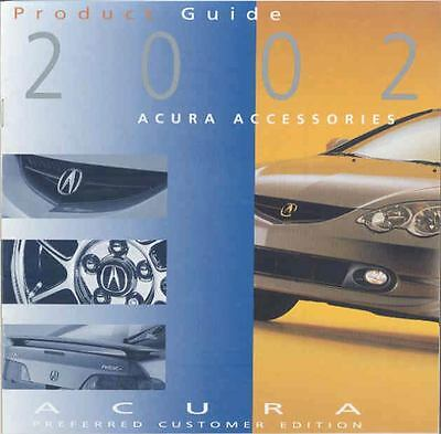 2001 Acura Accessories Brochure mx1651-PMTZM5