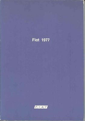 1977 Fiat Group Factory Book Car Truck Tractor mx1884-TUULVC