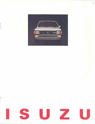 1981 Isuzu I-Mark Brochure mx1907-224WHZ
