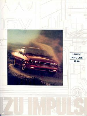 1990 Isuzu Impulse Brochure mx2456-MG1SOJ