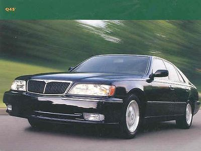 1997 Infiniti Q45 Sales Card Brochure mx2608-UWV268