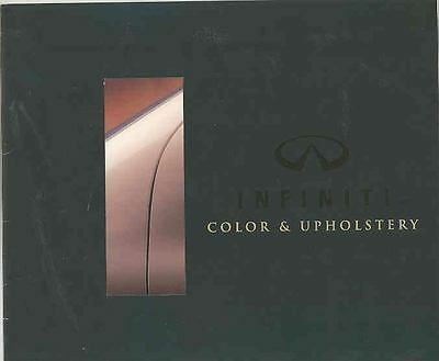 1995 Infiniti Paint Colors & Upholstery Brochure mx2632-LWK8Z7