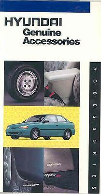 1996 Hyundai Accent Elantra Sonata Accessories Brochure mx2686-AJ4OLZ