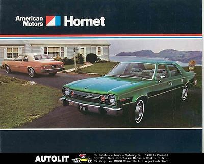 1974 AMC Hornet Brochure Military mx2955-BAX51P