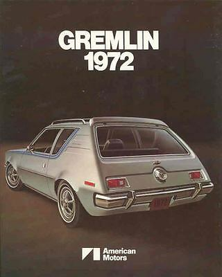 1972 AMC Gremlin Brochure Export mx3249-IQBVSH