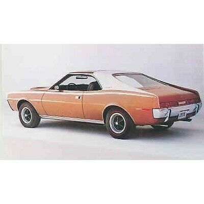 1970 AMC Javelin SST Factory Postcard mx3479-P9H7SQ