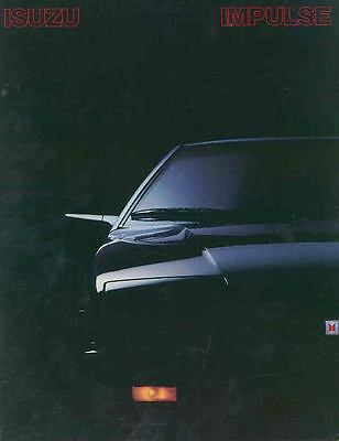 1983 Isuzu Impulse Brochure mx3692-UJD6XO