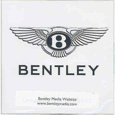 2003 Bentley CD-ROM Press Kit mx3761-PUJPEO