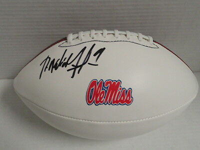 Robert Nkemdiche Signed Football Ole Miss Rebels Mississippi Jsa Coa