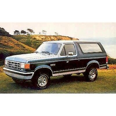 1987 Ford Bronco Postcard pc274-OEC1O3