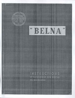 1934 1935 Lancia Belna Augusta Owner Manual French mx476-PDY7M9