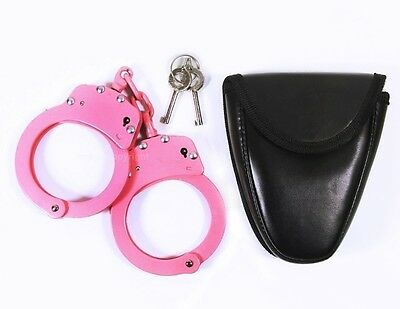 Police Cop Heavy Duty Military Level Handcuffs USA Seller Fast Shipping