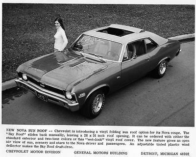 1972 Chevrolet Nova Coupe Automobile Photo Poster zad8652-OXT49D
