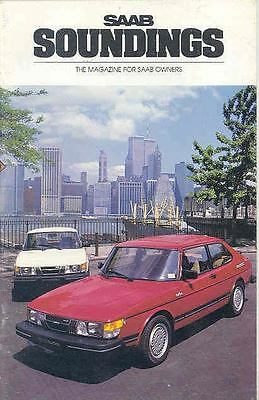1984 Saab Soundings Factory Magazine Brochure x6449-RI4E3B