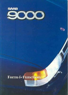 1988 Saab 9000 & Turbo Engineering Brochure England x6601-XE4NGK