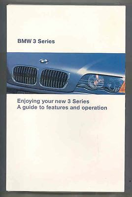 1999 BMW 3 Series VHS Video Tape  x7996-6K6X5K