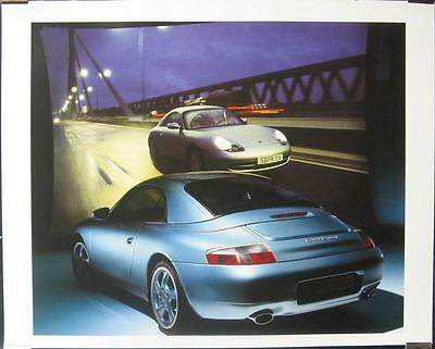 1999 Porsche 911 996 Carrera 4 Showroom Poster x8414-WP54IX
