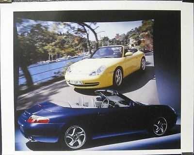1999 Porsche 911 996 Carrera Showroom Poster x8417-V88SST