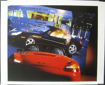 1999 Porsche 986 Boxster Showroom Poster x8424-NYRG7F
