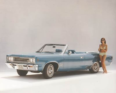 1968 AMC Rambler Rebel SST Convertible Automobile Photo Poster zae0224-8CTYXK