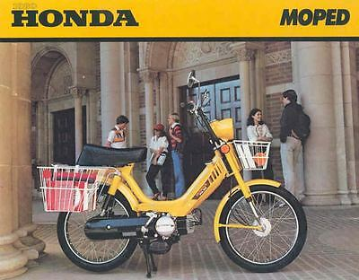 1980 Honda Moped Motorcycle Brochure 55672-9EIW58