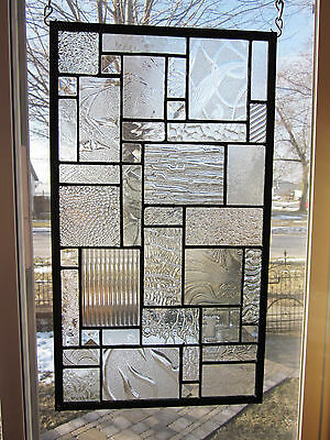 Star Dust Stained Glass Windows Panel