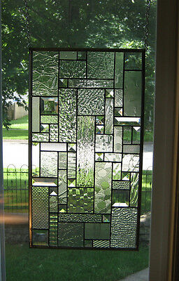 Distinctive Stained Glass Beveled Windows Panel