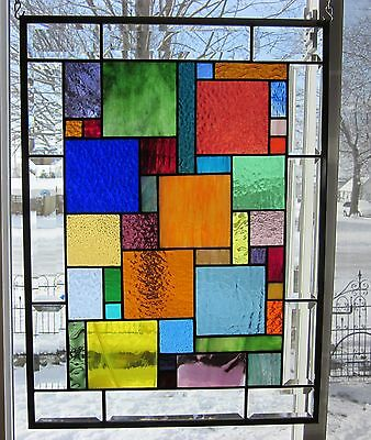 Mesmerized Stained Glass Window Panel EBSQ Artist