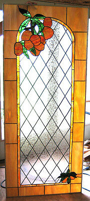 Mango Stained Glass Window Panel EBSQ Artist