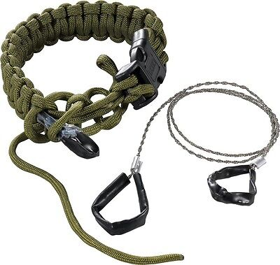 CRKT PARASAW - Ken Onion Survival Paracord Bracelet with built in wire saw
