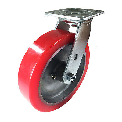"8"" x 2"" Aluminum wheel Casters -  Swivel"