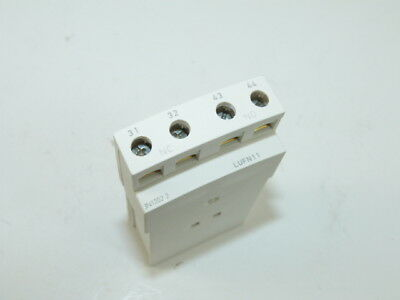 Schneider LUFN11 Auxiliary Contact Module (Lot of 5) NEW