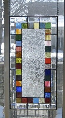 Scintillating Stained Glass Window Panel EBSQ Artist