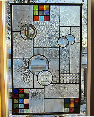 Facination Stained Glass Windows Panel Transom