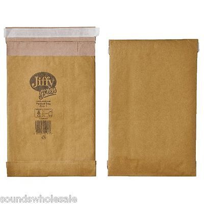 JIFFY 'GREEN' HEAVY DUTY PADDED BAGS ALL SIZES PB0 1 2 3 4 5 6 MULTILISTING +24h