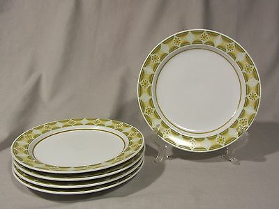 Noritake Progessions Stoneware SUNGLOW 9042 - Salad/Lunch plates - Set of 5