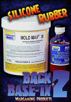 Liquid Silicone Rubber Compound Smooth On Mold Max 30 Trial Kit 1kg/2.2lbs